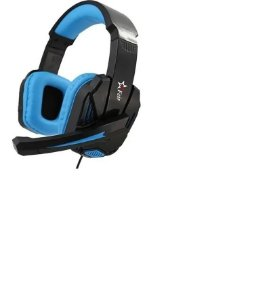 Headset Fone Gamer Pc Notebook Microfone Fr-512 Azul