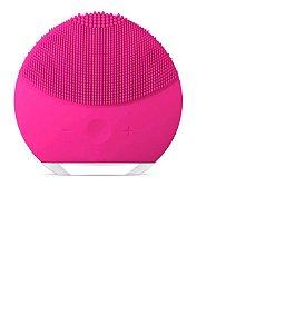 Esponja Elétrica Massagem  Limpeza Rosto Recarregável Pink