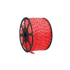 Mangueira de Led 10 metros 300 LEDs Vermelho Bronzearte