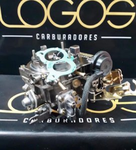 DUPLICADO - Carburador Pampa 93 Álcool 2e Motor 1.6 Original Brosol