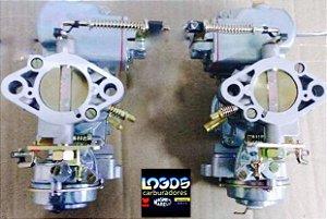 Carburador Recondicionado Kombi H-32/H-34 Duplo a Gasolina