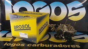 Carburador Novo 3e Álcool Original Brosol AP