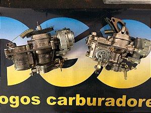 Carburador Duplo Fusca 1300/1500/1600 a Álcool Brosol Solex