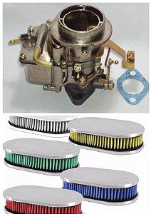 Carburador Corcel 2 Dfv 228 Simples Álcool + Filtro Esportivo