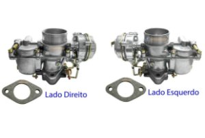 Carburador Brasília Duplo H32 Pdsit 1600 79/86 Gasolina Original Solex