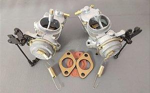 Carburador (Par) Variant 72 a 83 1600 Gasolina H32-34 Original Solex