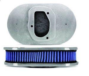 Filtro Esportivo Azul+ Respiro de Óleo Carburador Mini Progressivo