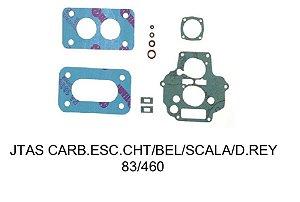 JUNTAS CARBURADOR DEL REY/BELINA/ESCORT 83 460 WEBER 1.6