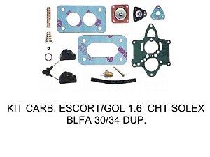 Kit Reparo Blfa Motor Cht 1.6 Escort / Gol 1.6 Duplo Solex