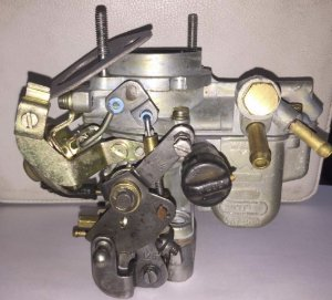 Carburador Fiat Uno Motor Fiasa 1.0 Weber 190 Gasolina