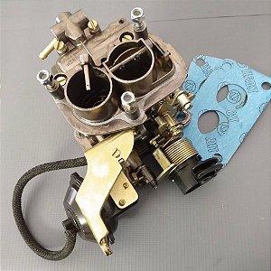 Carburador Passat 81/83 Mini Progressivo Weber 1.6 Álcool