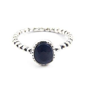 Anel Inspired Pandora - Azul Marinho