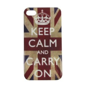 Case iPhone 4 - Keep calm