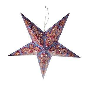 Estrela Decorativa Origami