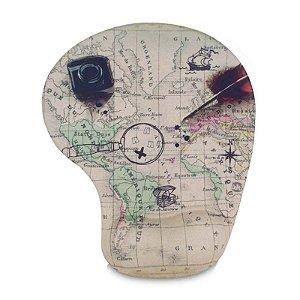 Mouse pad mapa mundi