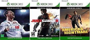 Fifa 18 Xbox 360 Combo 3 Games Digitais Originais