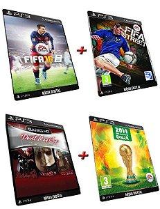 Fifa Combo 6 Games Ps3 Digital PSN Original