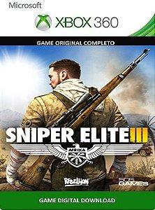 Sniper Elite 3 Xbox 360 Game Midia Digital Original