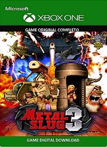 Metal Slug 3 Xbox One Game Midia Digital