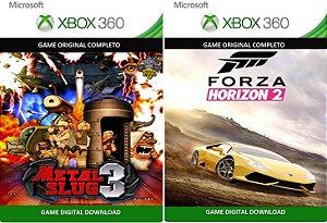 Metal Slug 3 + Forza Horizons 2 Xbox 360 Game Mídia Digital Xbox Live