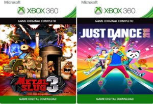 Metal Slug 3 + Just Dance 2018 Xbox 360 Game Mídia Digital Xbox Live
