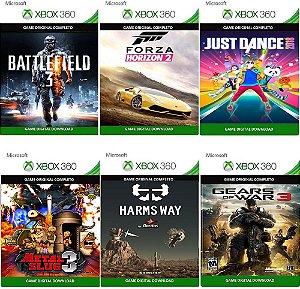 Combo 6 Super Jogos Xbox 360 Game Digital Xbox Live