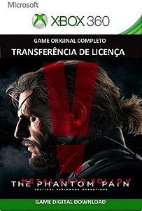 Metal Gear Solid V: The Phantom Pain Xbox 360 Game Midia Digital Original
