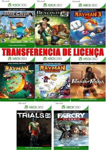 Super Combo 8 Jogos Xbox 360 Game Mídia Digital Xbox Live