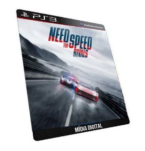 Jogo Need For Speed Rivals Ps3 - Mídia Digital PSN