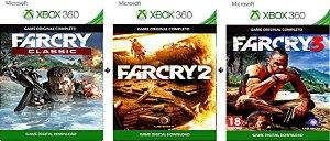 Far Cry 123 Trilogia Game Xbox 360 Digital