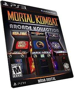 Mortal Kombat Arcade Kollection 1 2 3 - Mídia Digital PSN PS3