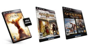 God of War (deus da guerra) Coleção 5 Games Digitais PSN PS3 Playstation 3