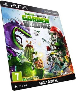 Plants VS Zombies Garden Warfare PS3 Game Digital PSN
