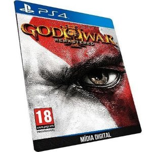 God Of War 3 Remastered Ps4 Game Psn Digital - ORIGINAL