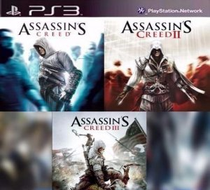 Assassin´s Creed Coleção 1 2 3 Psn Ps3 - GAME DIGITAL ORIGINAL