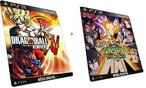 Naruto Shippuden Ultimate + Dragon Ball Z  PS3 Game Mídia Digital PSN