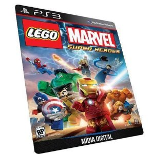 Lego Marvel Super Heroes PS3 Game Digital PSN