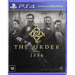 Game The Order: 1886 Português DVD PS4