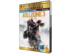 Killzone 3 Game Dublado Português DVD PS3 - Sony