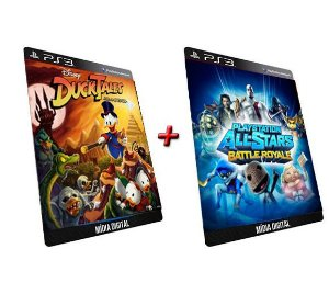 Ducktales Remastered + All-stars Battle Royale PS3 Game Digital PSN