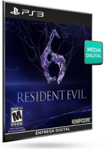 Resident Evil 6 PS3 Game Digital PSN