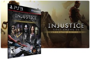 Injustice Gods Among Us PS3 Game Digital PSN