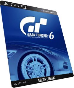 Gran Turismo 6 Português GAME DIGITAL PS3 PSN PLAYSTATION STORE
