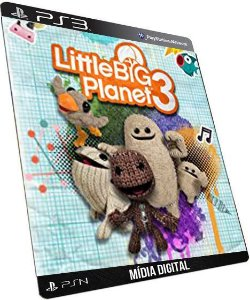 LittleBigPlanet 3 PS3 Game Digital PSN