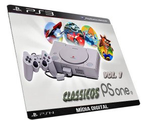GAME PS3 PSN CLASSICOS PSONE COLEÇÃO MIDIA DIGITAL PARA PLAYSTATION 3 ORIGINAL