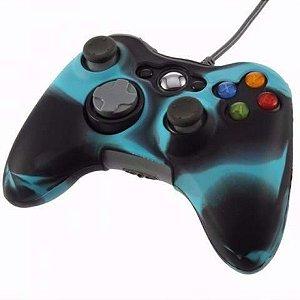 Case Capa Protetora Silicone Xbox 360 Novo