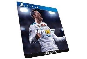 FIFA 18 EA SPORT PS4 PSN GAME DIGITAL PLAYSTATIONS STORE