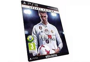 FIFA 18 EA SPORTS Game PS3 Digital PSN Playstation Store Sony Game Português