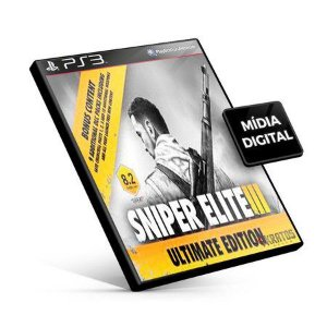 Sniper Elite 3 Ultimate Edition PS3 Game Digital PSN PLAYSTATION STORE