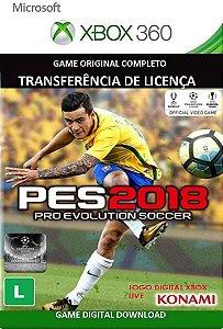Pes 2018  Xbox 360 Jogo Digital Original